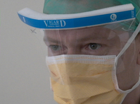 surgeon wearing mask